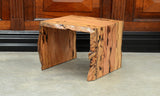Natural Edge Lamp Table