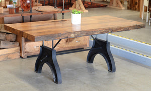 Vintage Gallows Dining Table