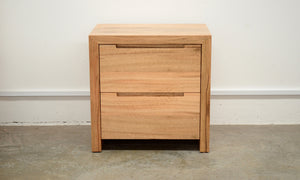Prevelly 2 Drawer Bedside