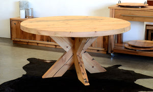Puzzle Round Dining Table