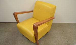 Retro Arm Chair Leather