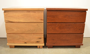 Riverside 3 Drawer Bedside