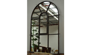 Victorian Cast Iron Arch Mirror 1900 x 1250mm