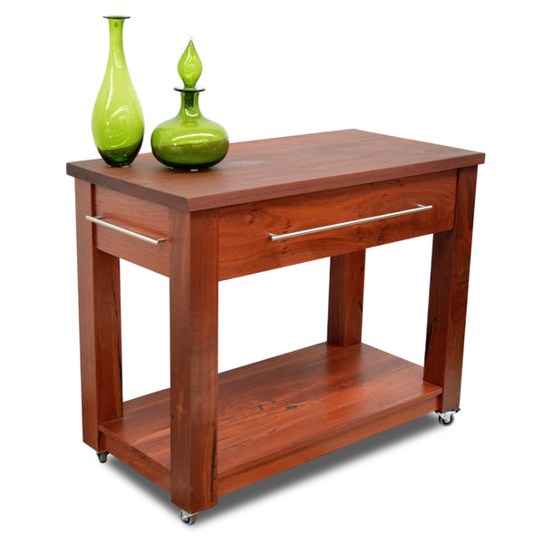 Brighton Solid Jarrah Timber Wood Butchers Block Kitchen Furniture Perth WA