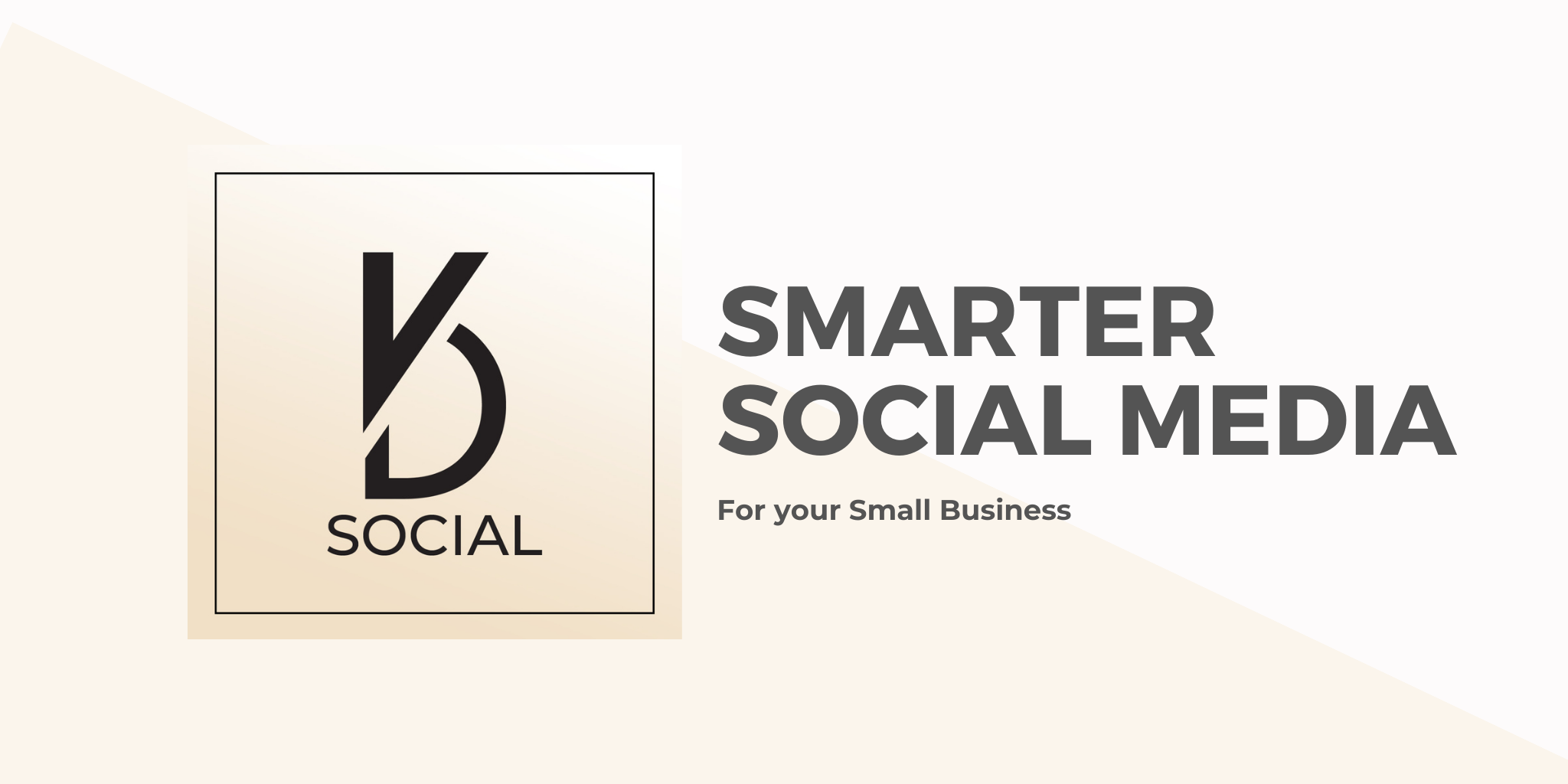 KD Social Smarter Social Media for your Small Business Logo