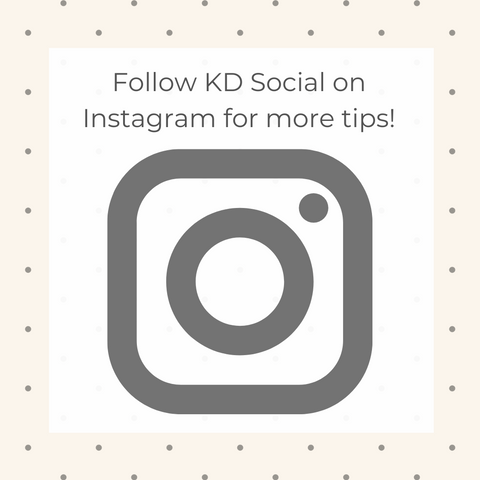 Follow KD Social on Instagram