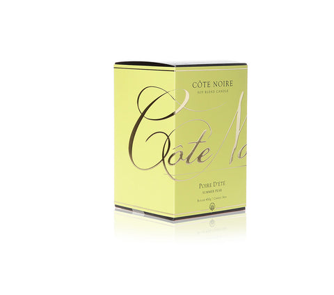 Côte Noire 450g Soy Blend Candle - Summer Pear