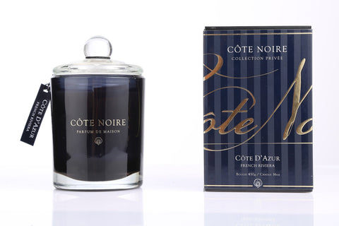 Côte Noire 450g Soy Blend Candle - French Riviera Gold