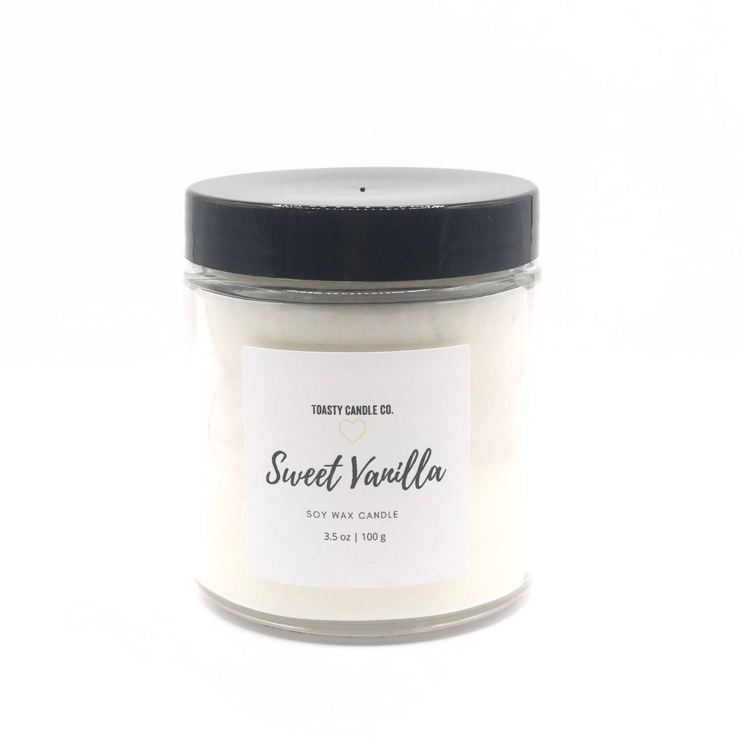 Sweet Vanilla Candle- Mini