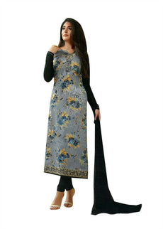 Ladyline Partywear Embroidered Printed Salwar Kameez Ready to Wear Indian Formal Dress