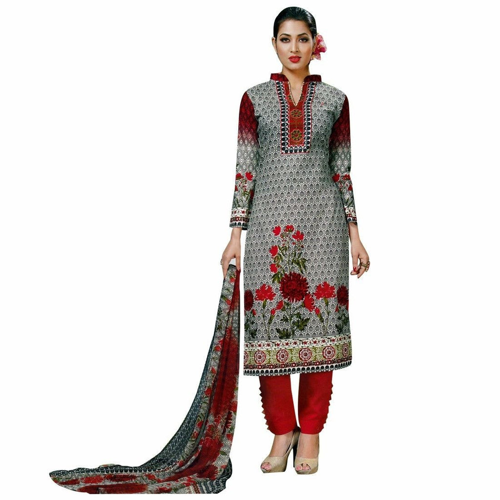Ready Made Ethnic Printed Cotton Salwar Kameez Online Indian