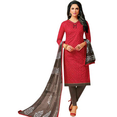 Ready to wear Cotton Embroidered Salwar Kameez Suit Indian Pakistani Dress