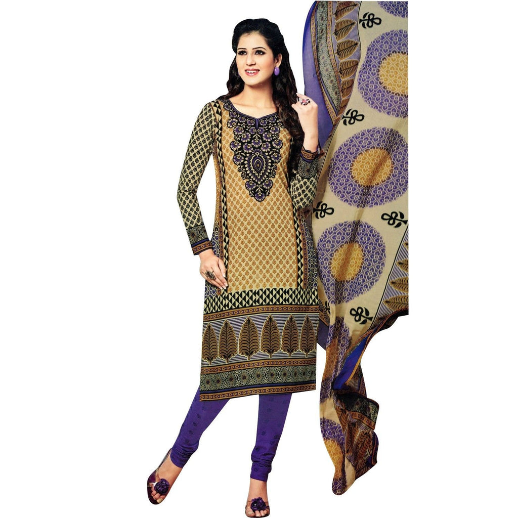 Ready to Wear Beautiful Printed Cotton Salwar Kameez Indian Dress Readymade Salwar Suit