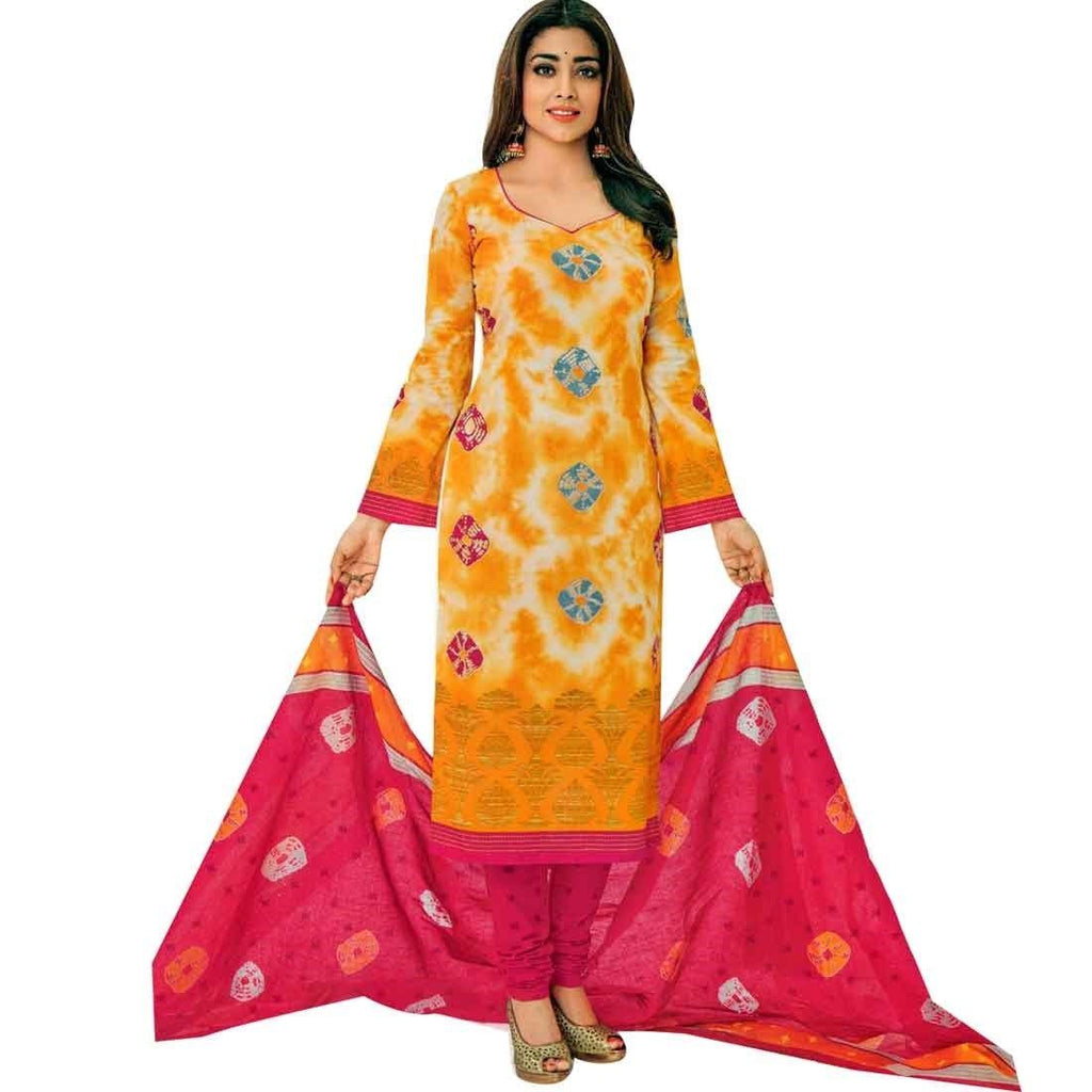 Readymade Ethnic Printed Pure Cotton Salwar Kameez Suit Indian Pakistani