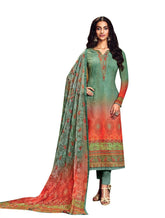 Ladyline Partywear Georgette Embroidered Salwar Kameez Ready to Wear Indian Pakistani Salwar Suit