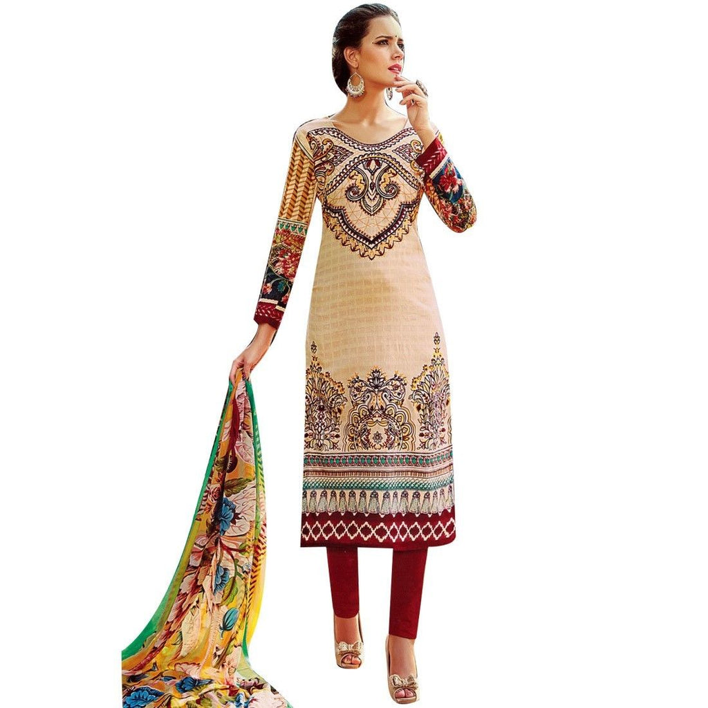 Ready to wear Designer Karachi Style Cotton Printed Salwar Kameez Indian Dress