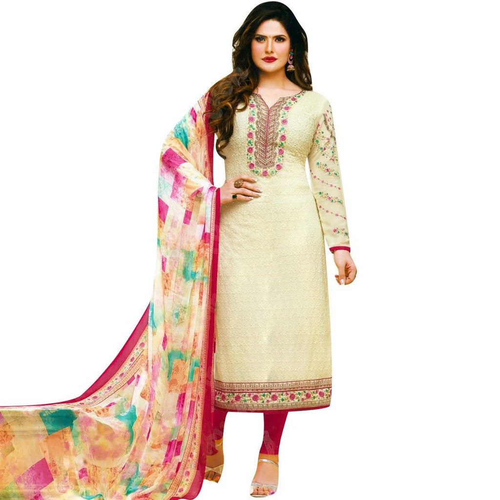 Designer Wedding Embroidered Readymade Salwar Kameez Georget