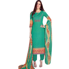 Womens Cotton Printed Salwar Kameez Elegant Designs Indian Pakistani Dress Ready to wear Salwar Suit Readymade
