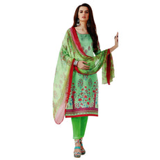 Pure Cotton Gorgeous Printed Salwar Kameez Indian Dress Pakistani Salwar Suit Readymade Stitched