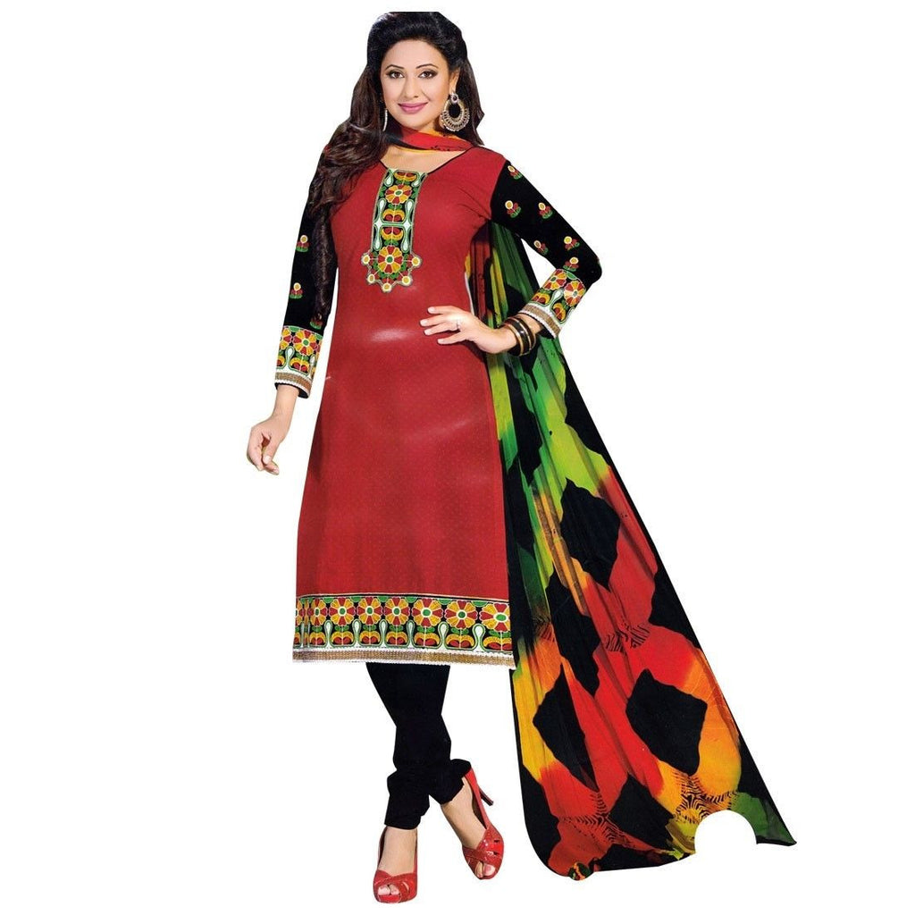 Ready To Wear Salwar Kameez Cotton Traditional Embroidered Indian