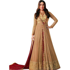 Designer Anarkali Wedding Georgette Embroidered Salwar Kameez Indian Pakistani