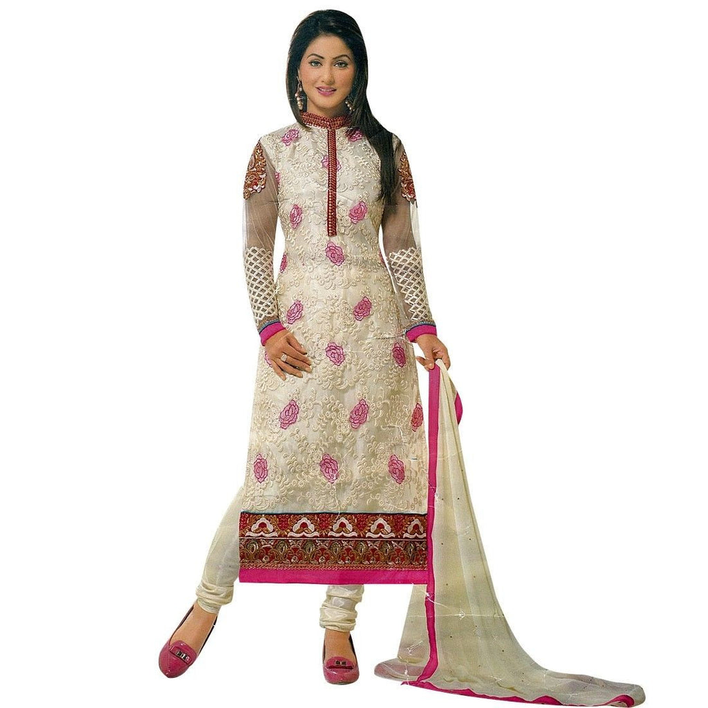 Designer Ready To Wear Partywear Georgette Embroidered Salwar Kameez