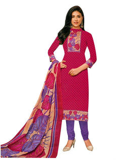 Readymade Cotton Ethnic Printed Salwar Kameez Indian Dress Ready to Wear Salwar Suit Stitched