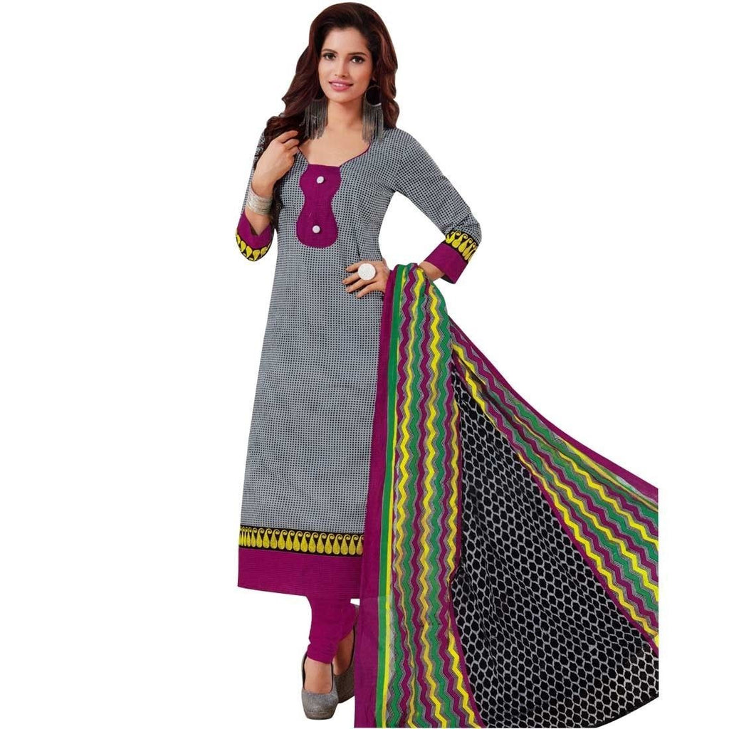 Ethnic Printed Readymade Cotton Salwar Kameez Suit Indian Pakistani
