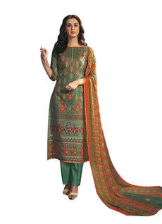 Ladyline Soft Lawn Cotton Ethnic Printed Salwar Kameez Womens Ready To Wear Indian Dress Salwar Suit