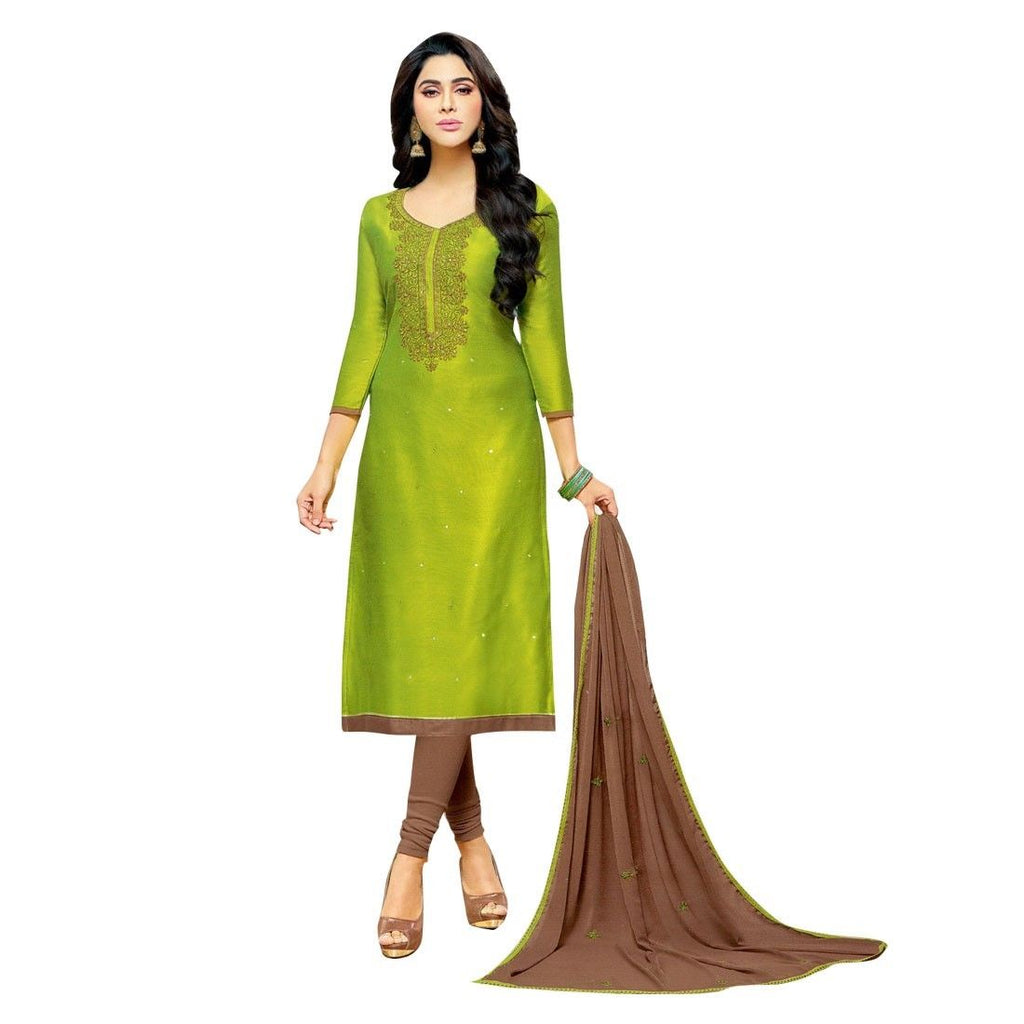 Readymade Silk Embroidered Salwar Kameez Suit Indian Pakistani Dress Ethnic