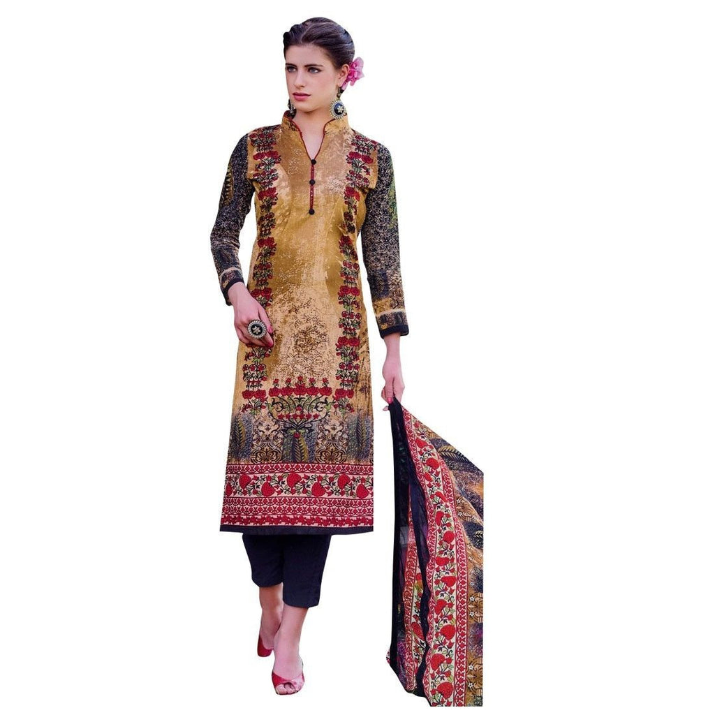 Ready to wear Ethnic Gorgeous Printed Cotton Salwar Kameez Suit