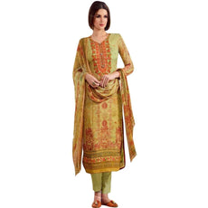 Readymade Wedding Partywear Georgette Embroidered Salwar Kameez Suit Indian Dress