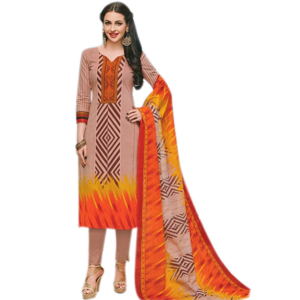 Ready to wear Ethnic Printed Pure Cotton Salwar Kameez Indian Dress Readymade Stitched Salwar Suit