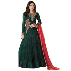 Designer Anarkali Full Length Salwar Kameez Suit Bollywood Dress India-LT-99007