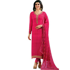 Ladyline Goergette Embroidered Cutwork Dupatta Partywear Salwar Kameez Ready to wear
