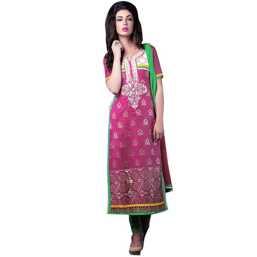 Designer Silk Handwork Embroidered Salwar Kameez Suit Indian dres