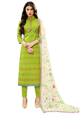 Ladyline Lawn Cotton Printed Embroidered Salwar Kameez Ready to Wear Indian Dress Casual