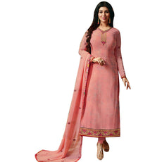 LADYLINE Wedding Salwar Kameez Embroidered Chiffon Ready to wear Womens Indian Dress Salwar suit