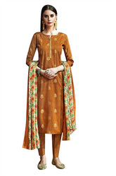Ladyline Ready to Wear Lawn Cotton Salwar Kameez Printed & Embroidered Dress