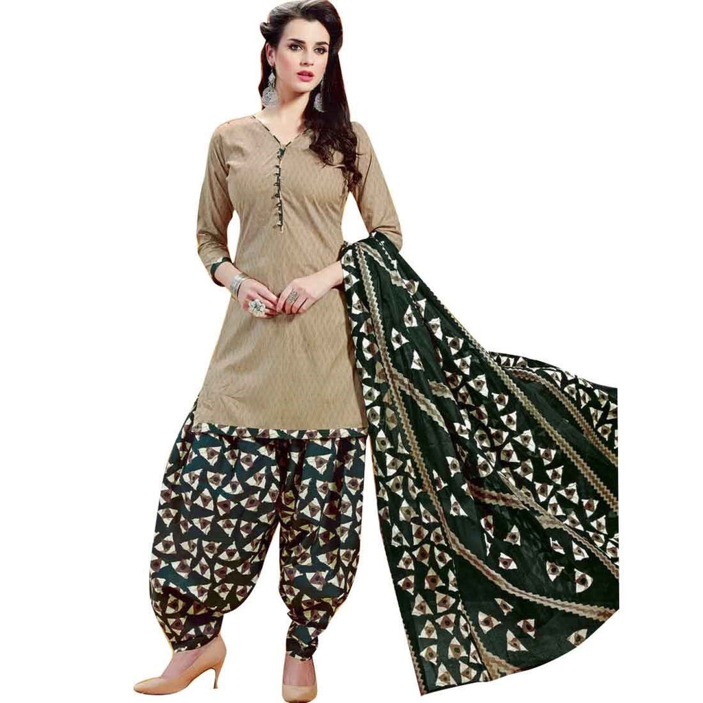 Ready to wear Ethnic Printed Patiala Salwar Cotton Salwar Kameez Suit Indian