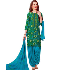 Readymade Patiala Salwar Embroidered Cotton Salwar Kameez Suit Indian
