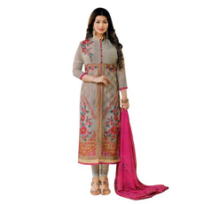 Bollywood Wedding Georgette Embroidery Salwar Kameez Suit