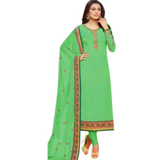 LADYLINE Wedding Salwar Kameez Chiffon Embroidered Womens Indian Dress Readymade Salwar Suit Stitched.