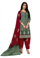 Readymade Cotton Traditional Batik Printed Salwar Kameez Dress