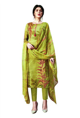 Ladyline Pure Cotton Designer Printed Salwar Kameez for Womens Ready to Wear with Pants  Salwar Suit