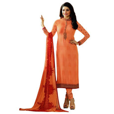 Designer Italian Crepe Embroidery Readymade Salwar Kameez Indian