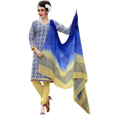 Readymade Cotton Printed & Lace Salwar Kameez Indian Dress Ready to wear Salwar Suit