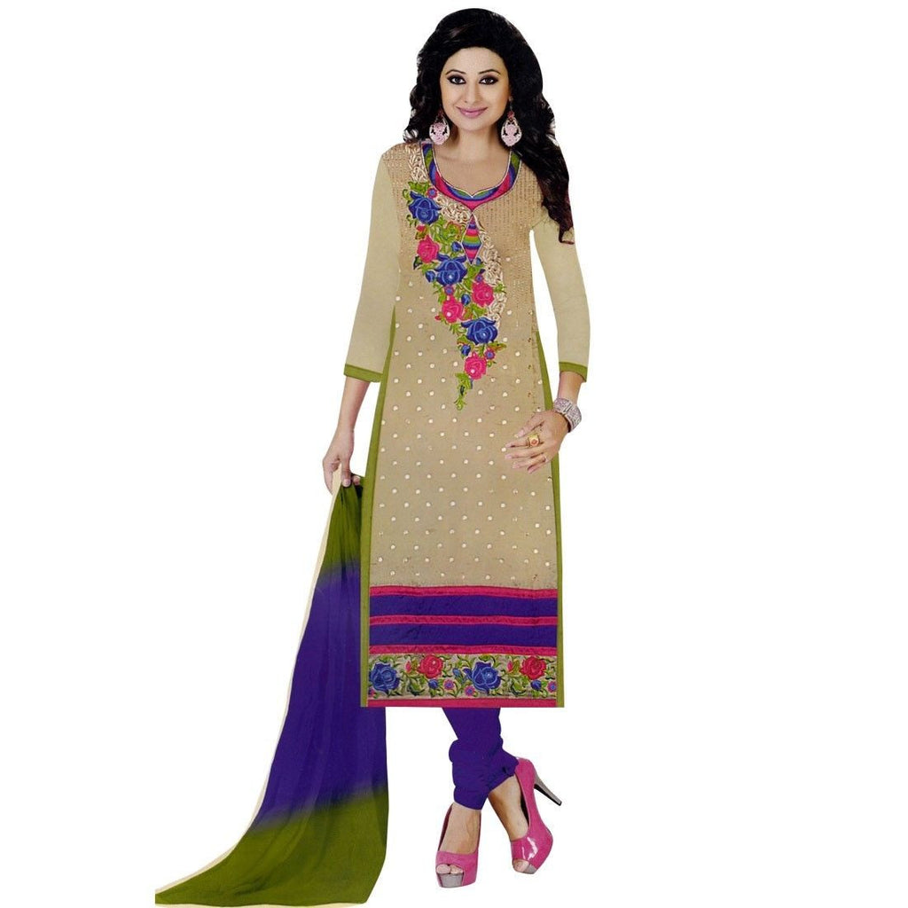 Designer Silk Embroidered Formal Salwar Kameez Indian Bollywood
