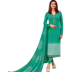 Partywear Italian Crepe Embroidered Salwar Kameez Womens Indian Dress Pakistani Salwar Suit Ready to wear