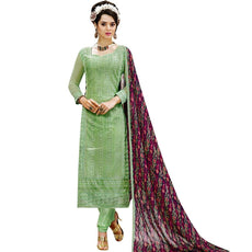 Designer Georgette Embroidered Salwar Kameez Suit Indian Pakistani